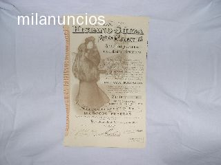 HISPANO SUIZA ACCION OCTAVA EMISION - foto 1