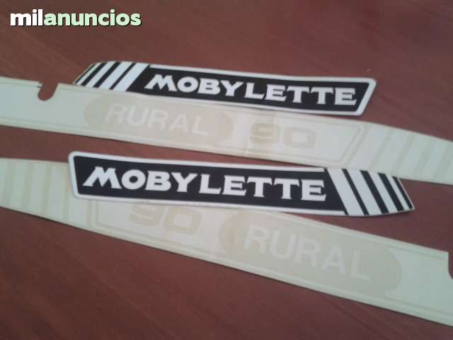 ADHESIVOS MOBYLETTE RURAL 90
