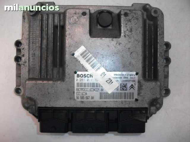 CENTRALITA MOTOR PEUGEOT-HDI- 0281011783 - foto 2