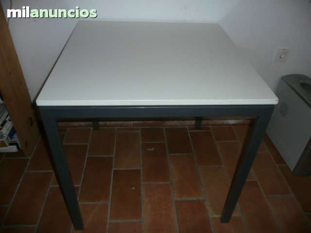 MESA CUADRADA BLANCA IKEA