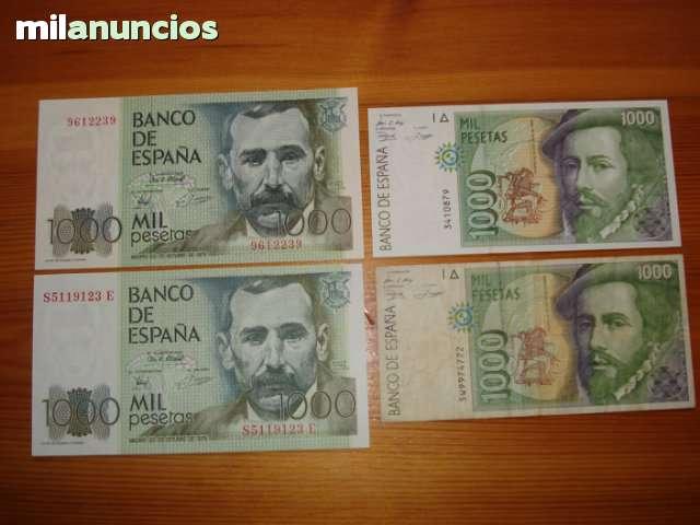 Compro Billetes Españoles (Extremadura)