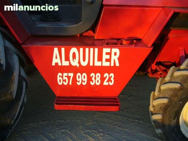 ALQUILER DE MAQUINAS 4X4 MANITU - foto 3