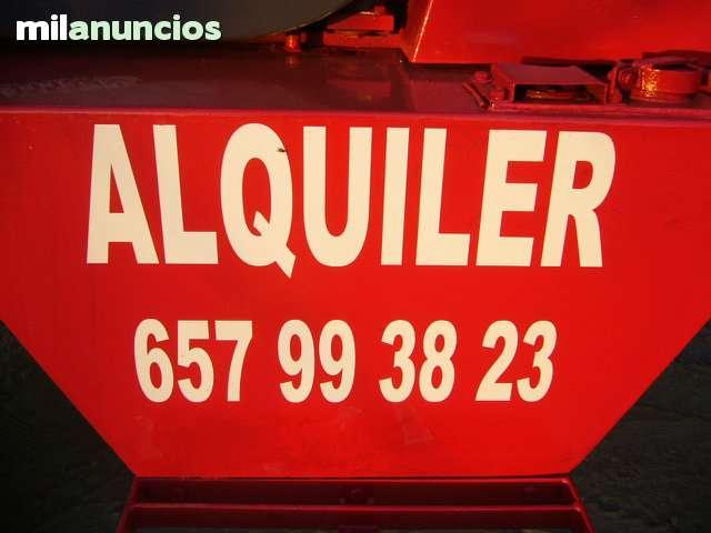 MAQUINAS CARRETILLA EN ALQUILER - foto 4