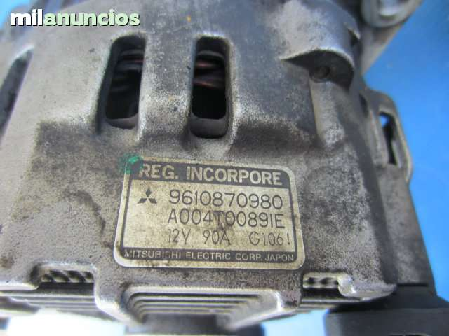 ARRANQUE Y ALTERNADOR PSA 2. 1D 12V - foto 4