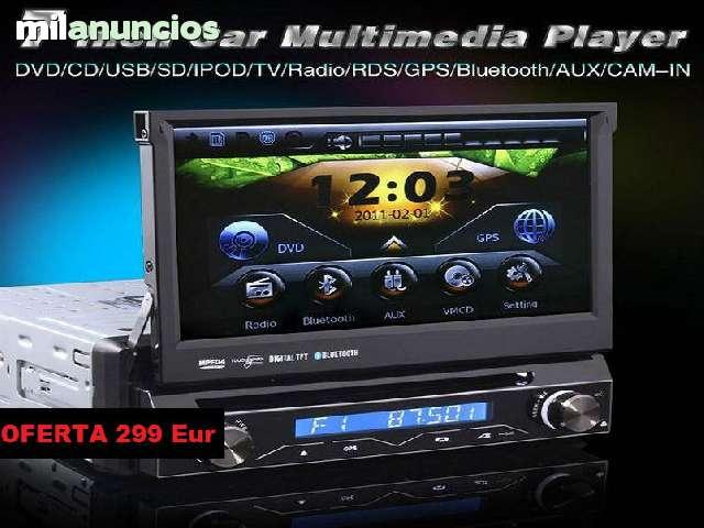 RADIO DVD 7 HD GPS BLUETOOTH IPOD 3G WI