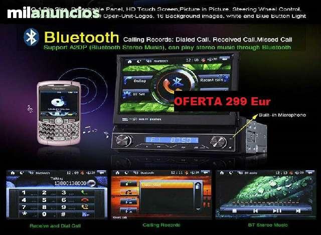 RADIO DVD 7  HD GPS BLUETOOTH IPOD 3G WI - foto 3