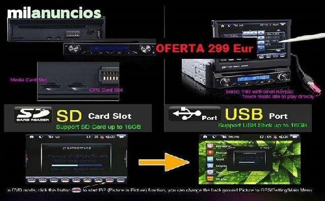 RADIO DVD 7  HD GPS BLUETOOTH IPOD 3G WI - foto 4