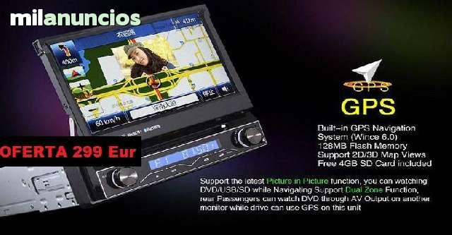 RADIO DVD 7  HD GPS BLUETOOTH IPOD 3G WI - foto 5