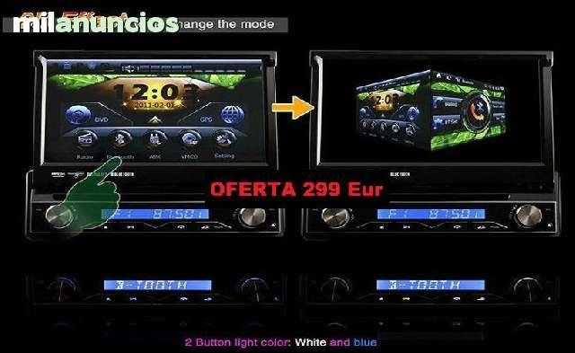 RADIO DVD 7  HD GPS BLUETOOTH IPOD 3G WI - foto 6