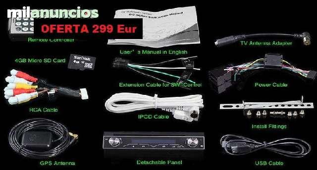 RADIO DVD 7  HD GPS BLUETOOTH IPOD 3G WI - foto 8