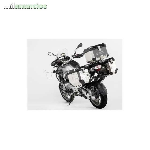 JGO.  MALETAS TRAX PLATA BMW R 1200 GS LC - foto 1