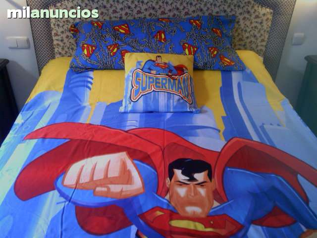FUNDA PARA NÓRDICO SUPERMAN(100%ALGODON) - foto 3