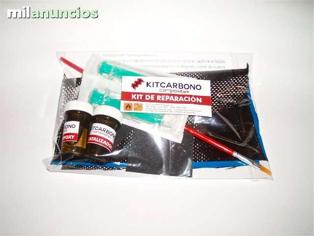 KIT REPARACION FIBRA DE CARBONO - foto 1