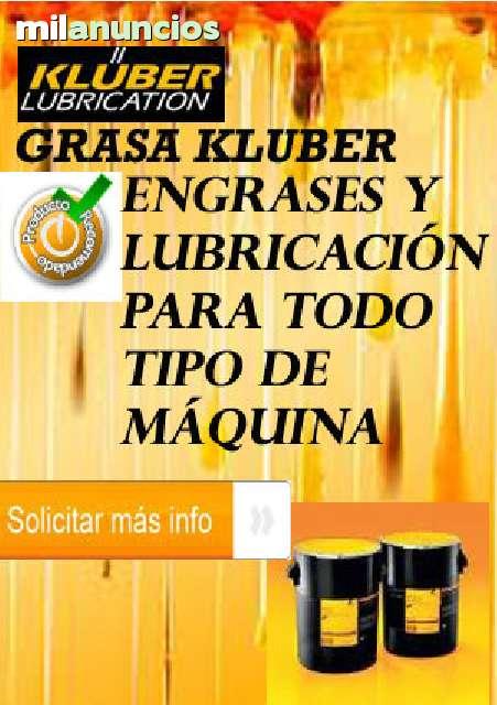 CONSUMIBLE GRASA KLUBER PARA MAQUINARIA - foto 1