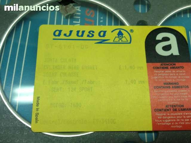 JUNTAS DE CULATA SEAT124 1600/1800/2000 - foto 7