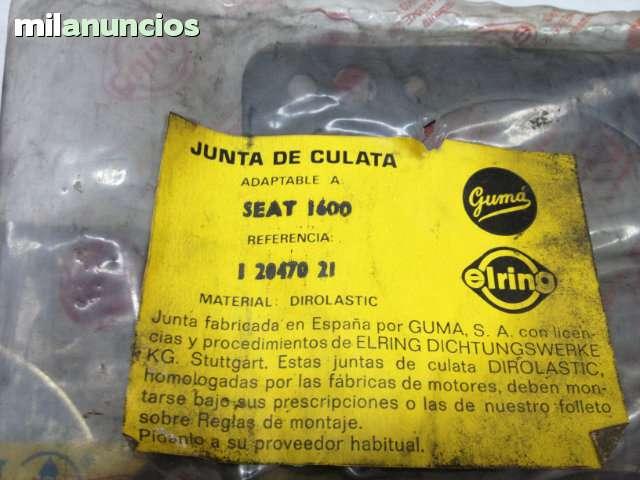 JUNTAS DE CULATA SEAT124 1600/1800/2000 - foto 8