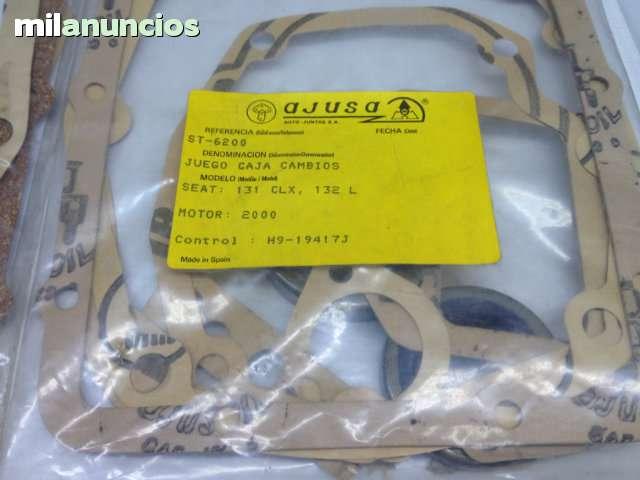 JUNTAS CAJA DE CAMBIOS SEAT 124, 1430, 131 - foto 4