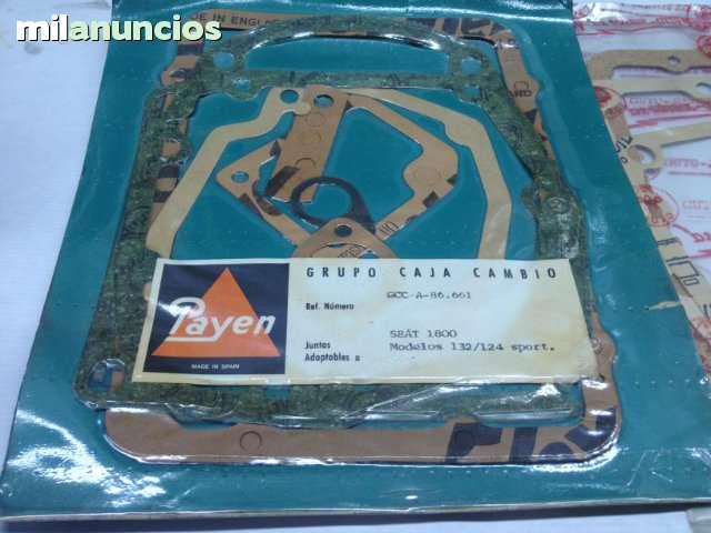 JUNTAS CAJA DE CAMBIOS SEAT 124, 1430, 131 - foto 7