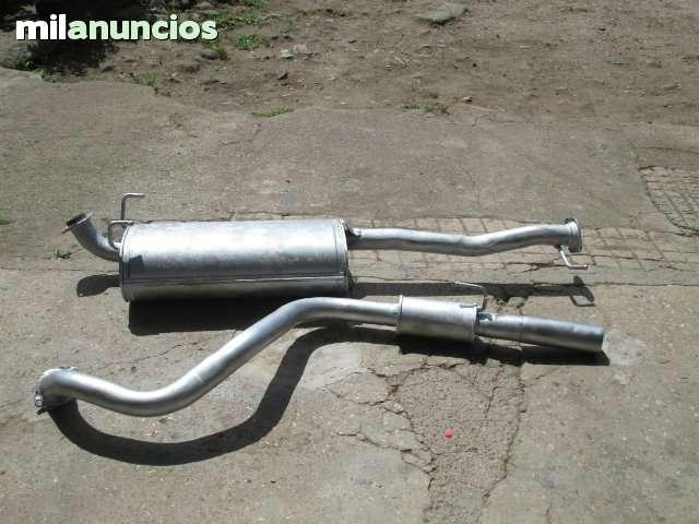 TUBO ESCAPE Y SILENCIADOR TOYOTA LAND CR - foto 1