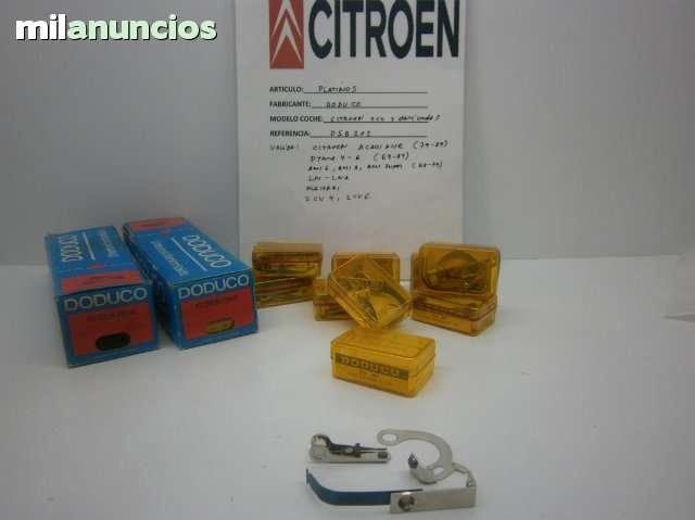 PLATINOS CITROEN 2 CV Y DERIVADOS - foto 1