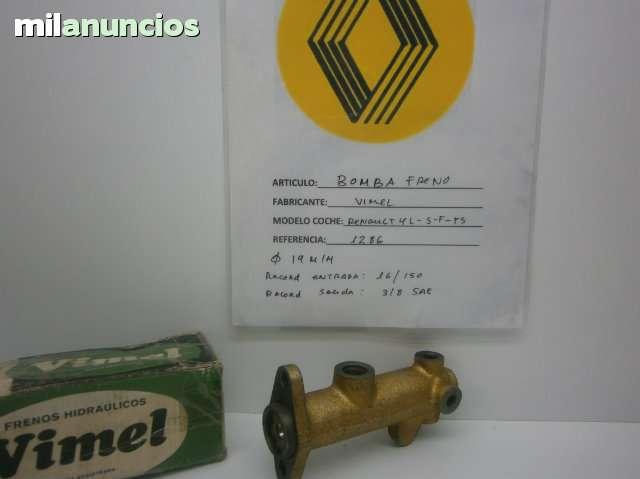 BOMBA FRENO RENAULT 4 L, S, F, FS - foto 1