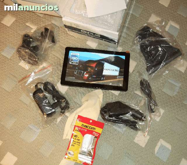 GPS 7 PULG CAMION BUS 8GB,  IGO8 + PRIMO - foto 3