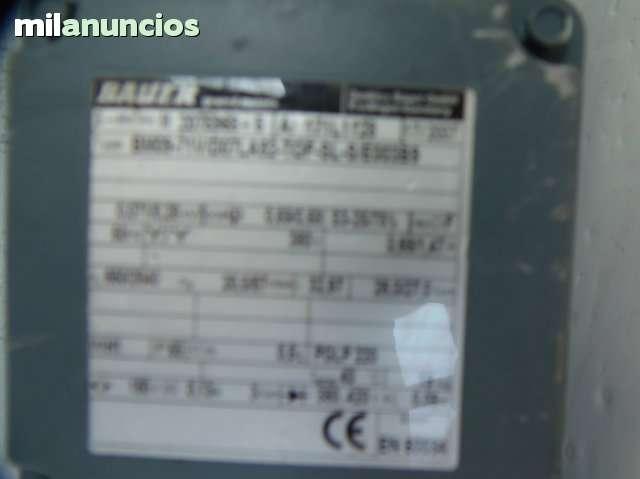 MOTOR Nº8  REDUCTOR CON FRENO ELECTRICO - foto 3