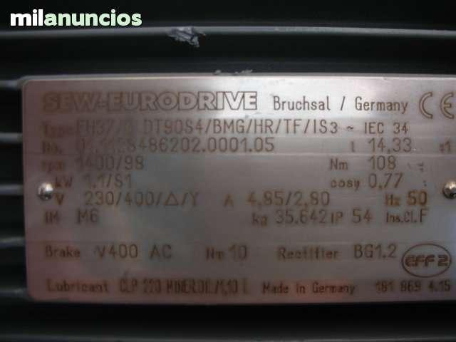 MOTOR Nº 10 REDUCTO CON FRENO ELECTRICO - foto 5