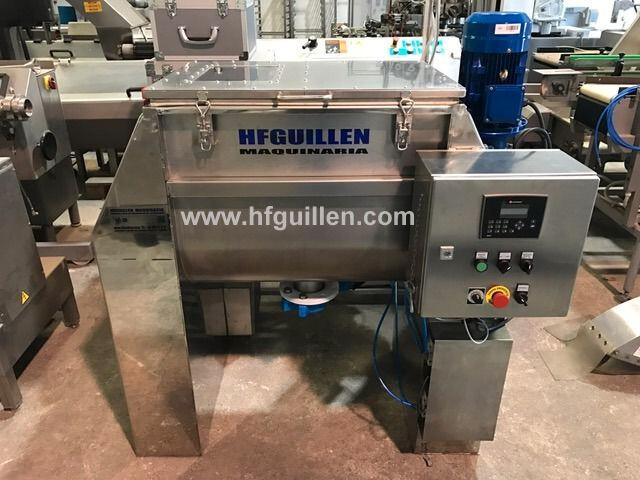 MEZCLADOR HORIZONTAL INOX.  220 L (NUEVO) - foto 1