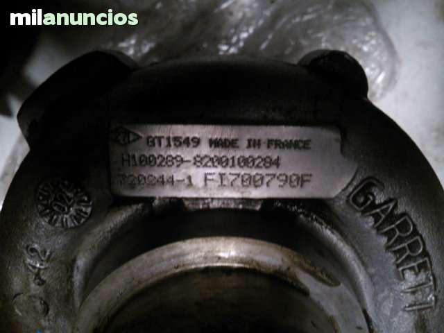 TURBO RENAULT TRAFFIC 2. 2 DCI 8200100284 - foto 2