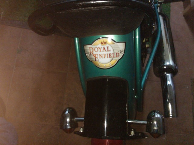 PEGATINAS Y PARCHES DE ROYAL ENFIELD - foto 6