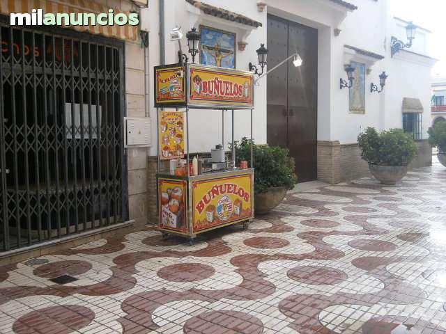 ALQUILER PUESTO DE BUÑUELOS Y CREPES - foto 2