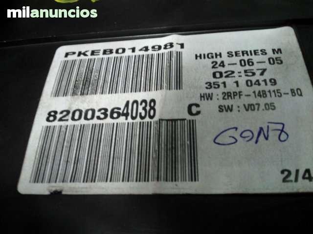 CUADRO DE RELOJES RENAULT MEGANE 2 - foto 2