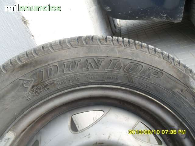 NEUMATICO DUNLOP 155/70/13 NUEVO - foto 3
