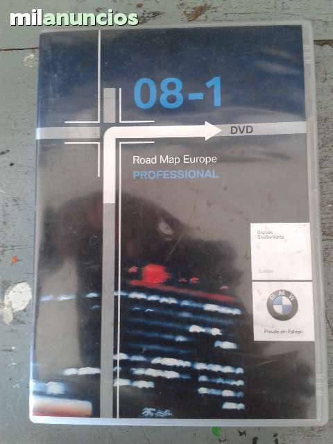 DVD NAVEGACION BMW PROFESSIONAL 2008 - foto 1
