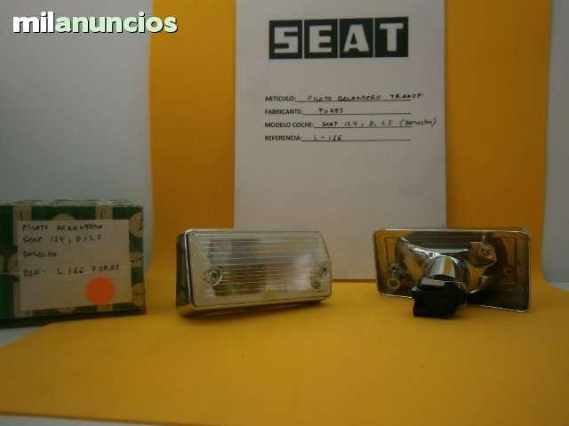 PILOTO DELANTERO SEAT 124 - foto 1