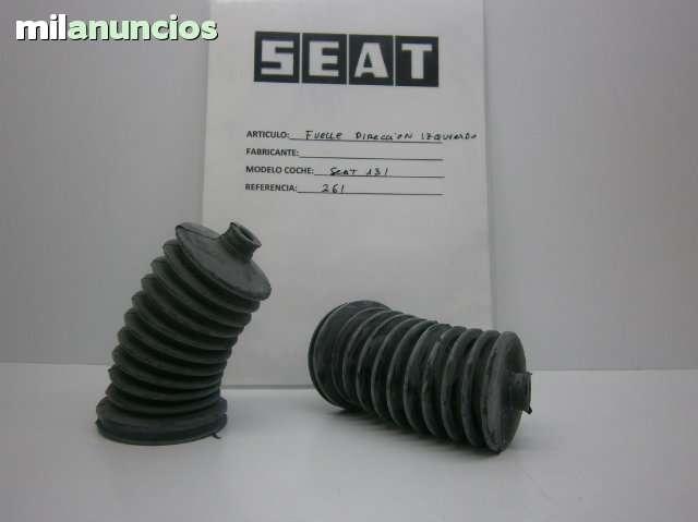 FUELLE GOMA DIRECCION SEAT 131 IZQUIERDO - foto 1