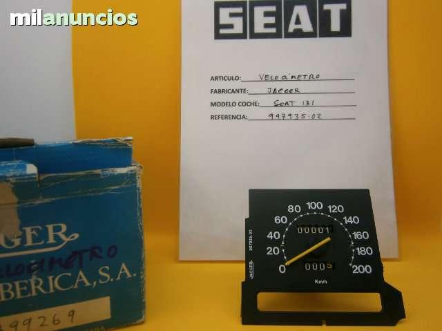 RELOJ VELOCIMETRO SEAT 131 - foto 1