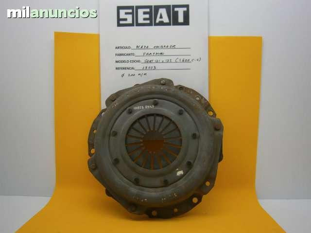 MAZA EMBRAGUE SEAT 131, 132 1600 C. C - foto 1