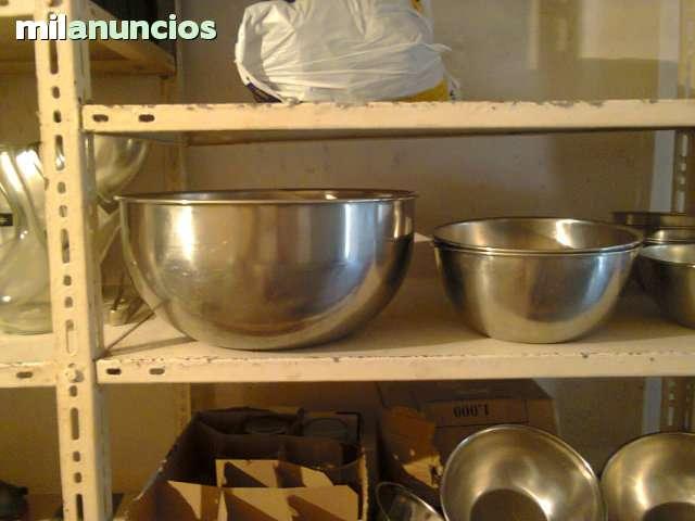 BOLS O RECIPIENTE OVALADOS INOX - foto 2