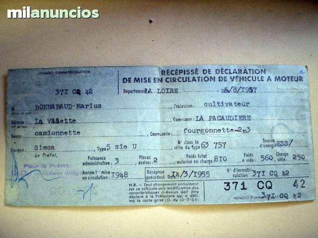 SIMCA 5 - DE COLECCION - foto 9