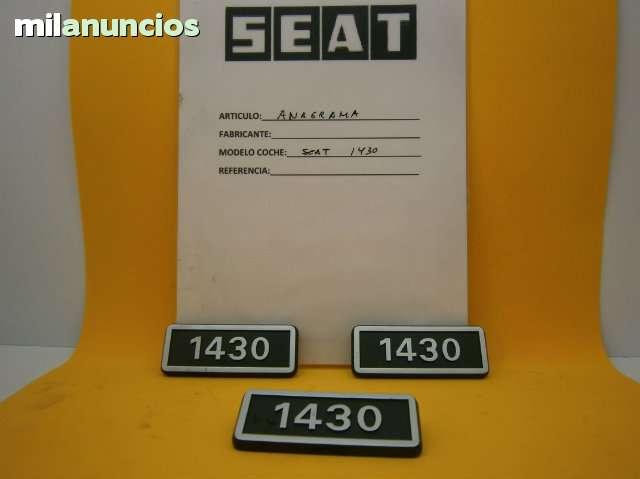 ANAGRAMA SEAT 1430 - foto 1