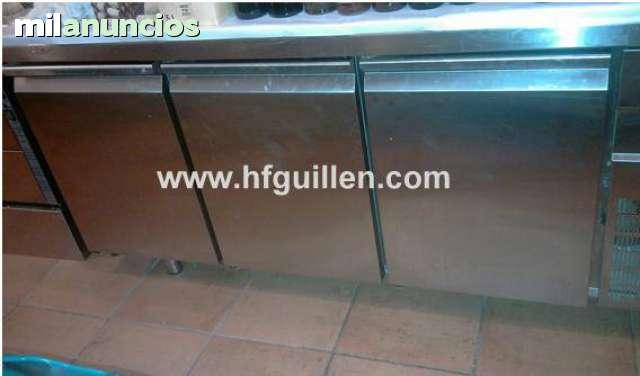 BOTELLERO DE 3 PUERTAS INFRICO EN INOX.  - foto 1