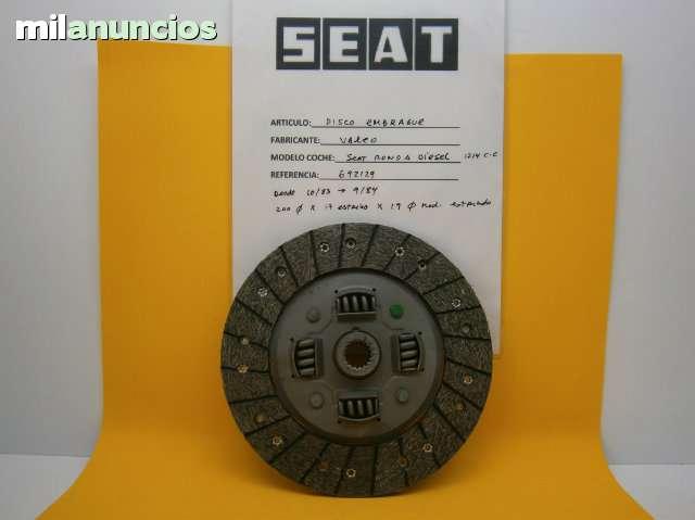 DISCO EMBRAGUE SEAT RONDA DIESEL - foto 1