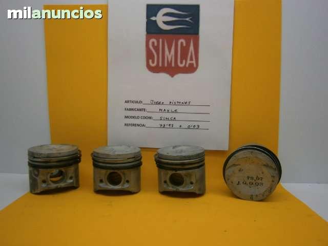 JUEGO PISTONES SIMCA - foto 1