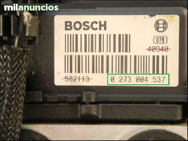 MODULO ABS MG ZR 160CV 0265216803 - foto 3