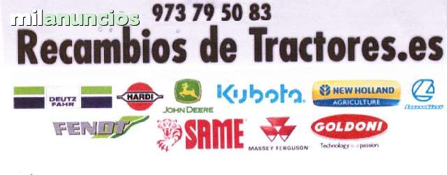 TALLERS DIESEL - RECAMBIOS TRACTOR - foto 1