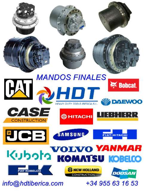MANDOS FINALES PARA EXCAVADORAS - foto 1