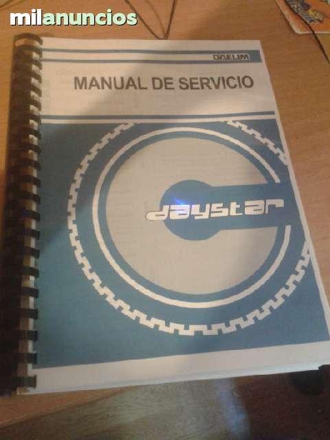 MANUAL DE SERVICIO  DAELIM  DAYSTAR - foto 1