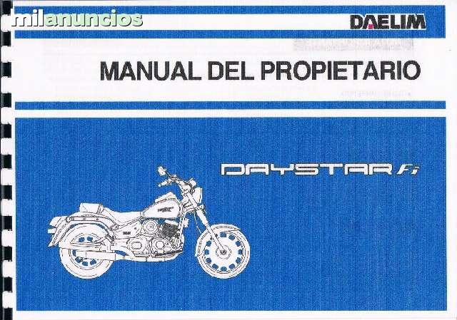 MANUAL DE SERVICIO  DAELIM  DAYSTAR - foto 6